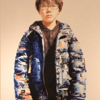 Lim Young Sun: Busan 260x194cm Oil on Canvas 2009