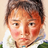 Tibet 200x145cm Oil on Canvas 2010