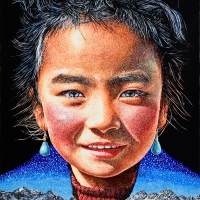 Lim Young Sun: Tibet Himalaya Oil on Canvas 2016