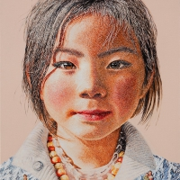 Lim Young Sun: Tibet Himalaya Oil on Canvas 2014